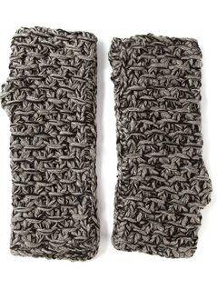 Dolce&Gabbana Chunky Knit Gloves