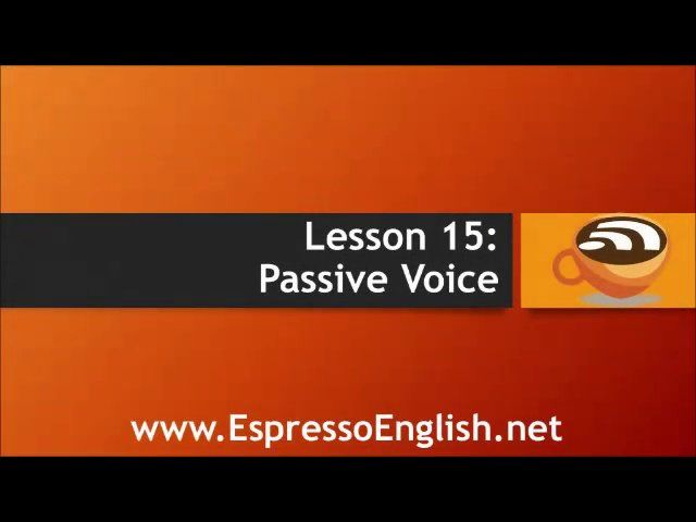 Advanced English Grammar - Lesson 15