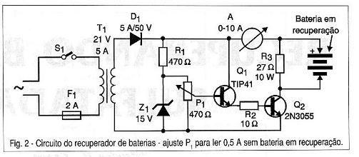 Recuperando baterias sulfatadas (ART146)