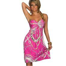 Богемный Европейский Стиль Женщины Платье Качество Низкая Цена Сексуальная Одежда Vintage Ropa Mujer Печати Пляж Летнее Платье Vestidos Де Феста(China (Mainland))