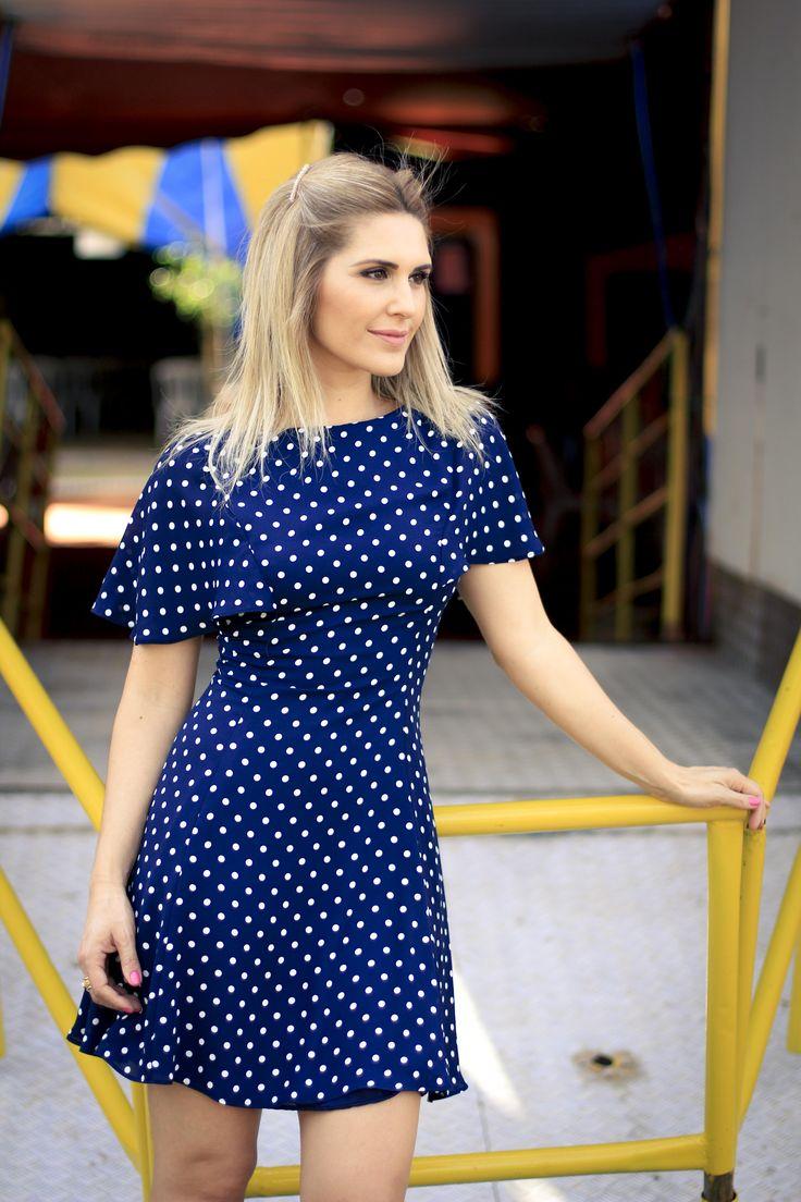 Vestido de Bolinha-12