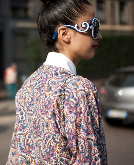 Prada 'Baroque' sunglasses.