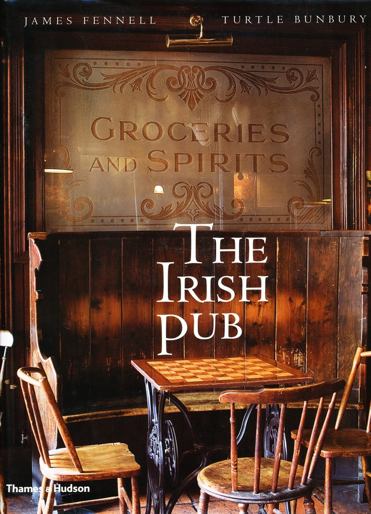 The Irish Pub - James Fennel & Turtle Bunbury. Glorious book featuring some of the best loved (and some hidden gems) pubs both north and south of the border. Beautiful photos and some interesting stories and historical information about each pub and it's role in the community.
