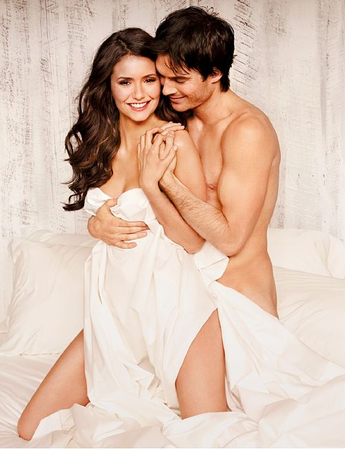 Two of the hottest people in the world! Nina Dobrev and Ian Somerhalder