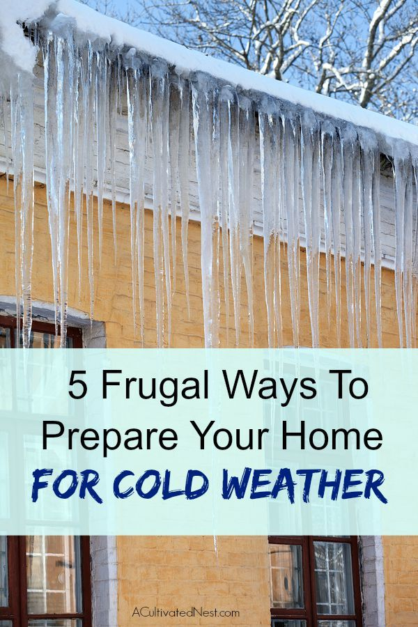 It's time to start thinking about winter-proofing our homes so that we can conserve energy and save money! No one wants high heating bills! If you don't know where to start, check out these 5 Ways That You Can Prepare Your Home for Cold Weather!