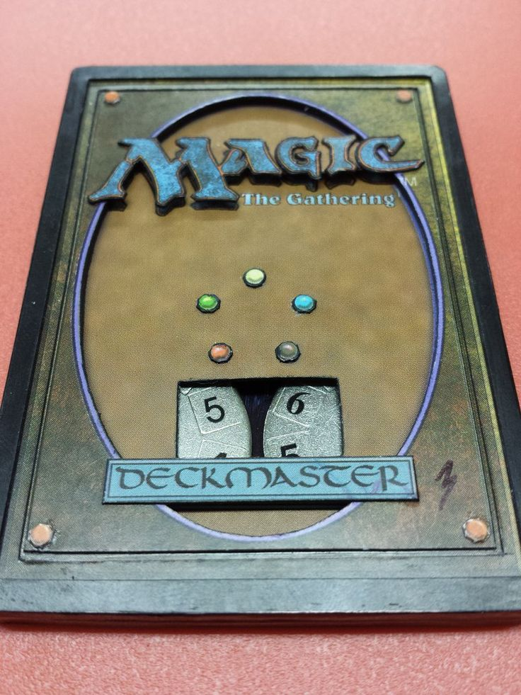 3D Life Counter: Magic the Gathering by ThirdOfClubs