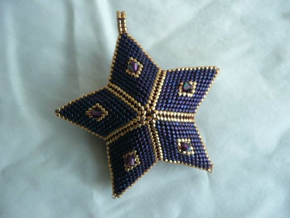 144 best Beading Stars images on Pinterest  Beads Beaded jewelry