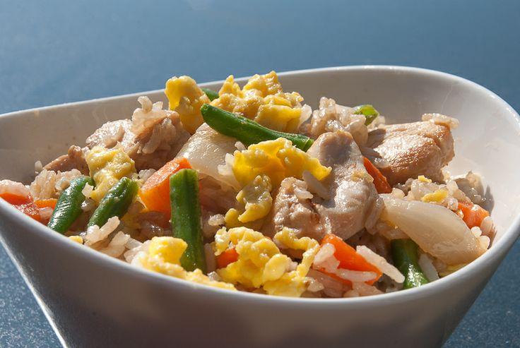 Stekt ris på vietnamesisk vis - chezENGH