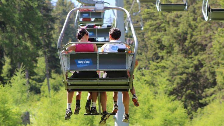 Mit den Bergbahnen in Nauders kann Ihr Wanderurlaub im Dreiländereck nur zum unvergesslichen Erlebnis werden