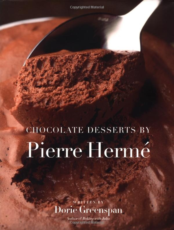 chocolate desserts by pierre hermé by dorie greenspan (for the plaisir sucré and chocolate eclair recipes)