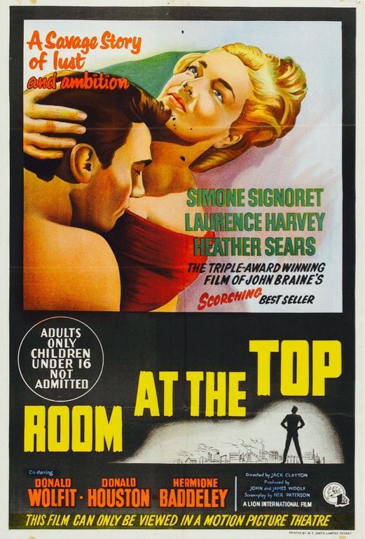 'Room At The Top' (1959) ... | ROOM AT THE TOP | Pinterest ...