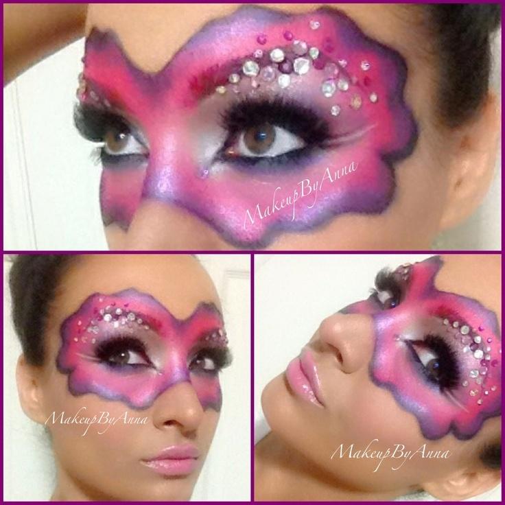 Pin by CC Wheeler on Makeup Rave makeup, Makeup, Monster