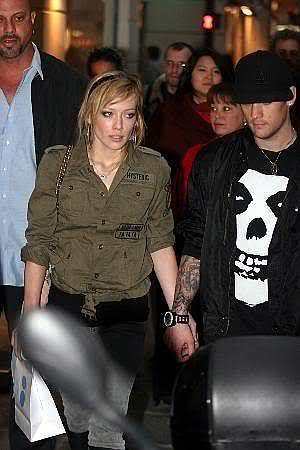 Hilary Duff & Joel Madden out and about 10/5-10/6