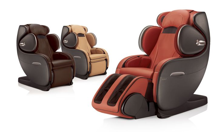 uInfinity massage chair colors - Brown, Beige and Orange