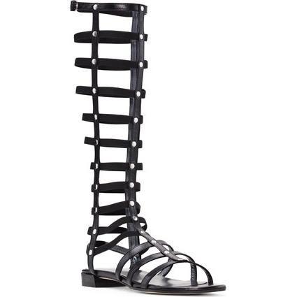 Stuart Weitzman Gladiator Sandals as seen on Olivia Culpo
