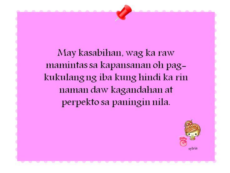 a Filipino