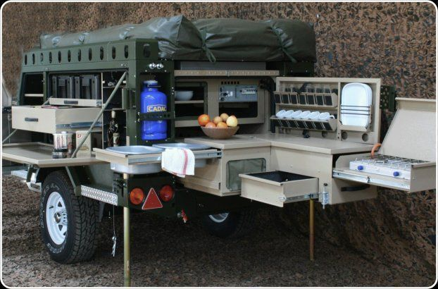 """OK, I recently ran across something that I really like and it is called a """"Survival Trailer"""". They are also sometimes called bug out trailers, as well. As strange as it may seem, I..."""