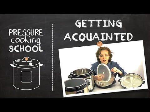 Getting Acquainted - Pressure Cooking School • hip pressure cooking
