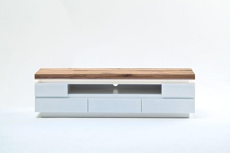 Billig lowboard weiß matt