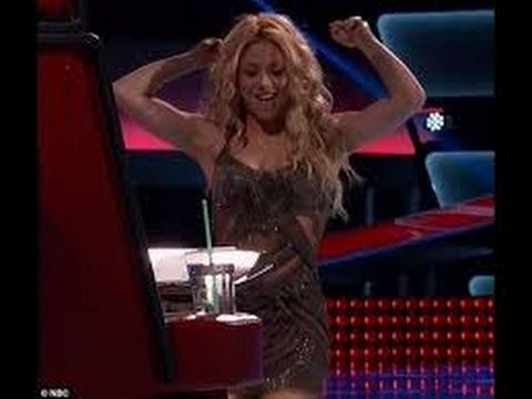 Shakira SHOCKED by fan singing her song! AMAZING THE VOICE AUDITION - YouTube
