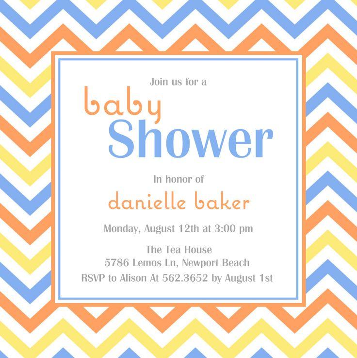 112 best Bridal Shower\/Baby Shower images on Pinterest Kitchen - baby shower template word