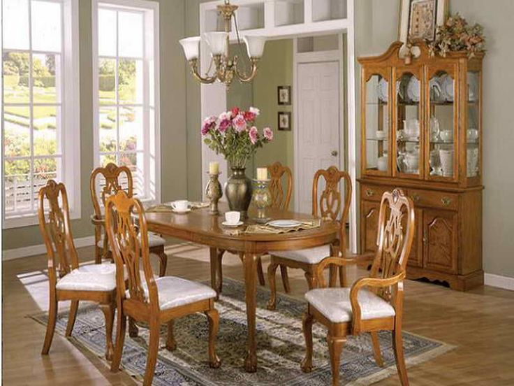 17 best images about dinning rooms on pinterest blue for Oak dining room ideas