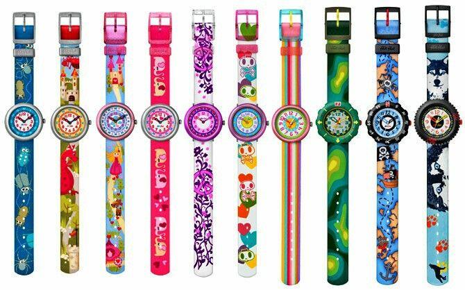 Cute Flik Flak watches!