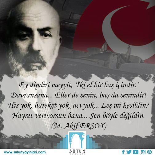 İstiklâl Marşı şairimiz Mehmet Akif ERSOY'u vefatının 78. yıl dönümünde rahmetle anıyoruz. #mehmetakifersoy #sutunyayinlari #taziye #bayrak 3istiklalmarsi #kitapkaynagi