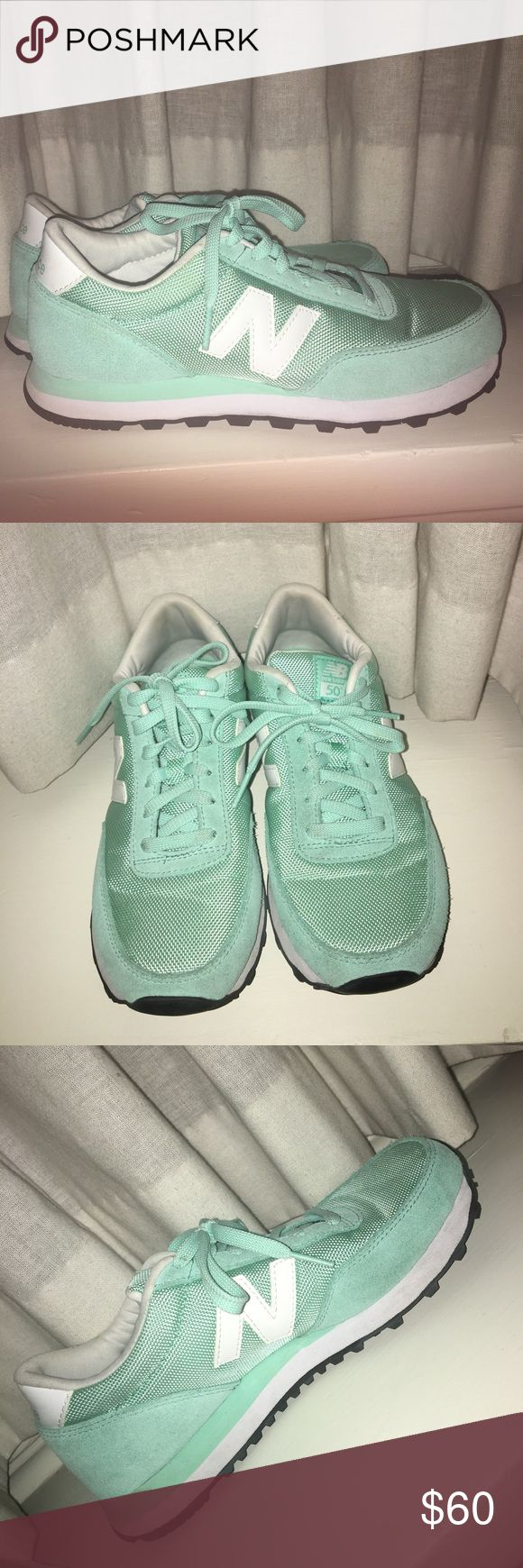 Mint green New Balance sneakers New Balance 501 sneakers. Barely worn. Perfect condition New Balance Shoes Sneakers