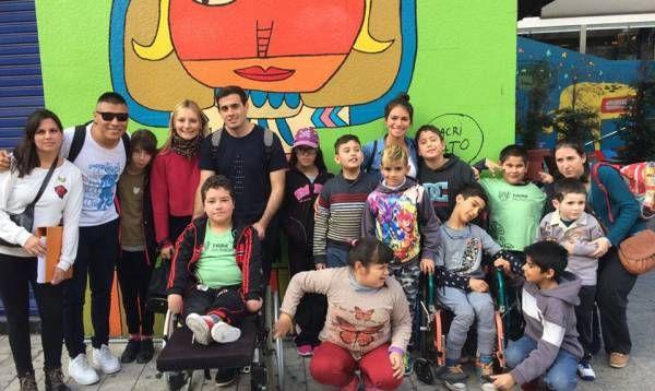 Los chicos del programa Deporte y Arte Inclusivo de Tigre vivieron una entretenida excursión