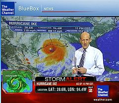 hurricane Ike Weather Channel http://thesurvivalmom.com/2012/11/06/whether-its-sandy-or-katrina-heres-what-you-can-count-on/