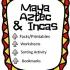 This lesson packet is perfect when studying the Maya, Aztec, and Incas!
