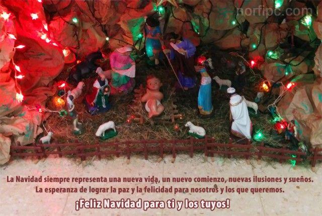 ¡Feliz Navidad para ti y los tuyos!