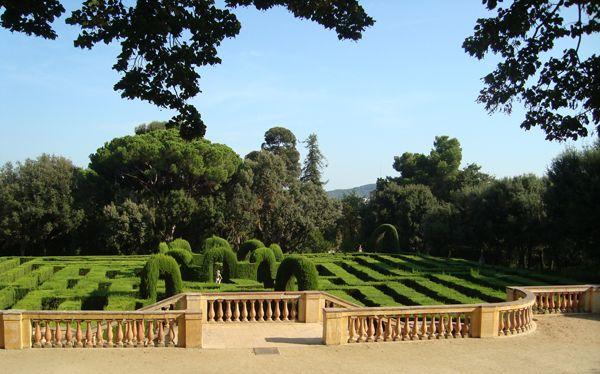 Laberinto de Horta en Barcelona