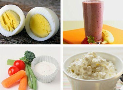 Диетическое питание рекомендует делать между основными приемами пищи небольшие перекусы из низкокалорийных продуктов для того, чтобы не испытывать голод.