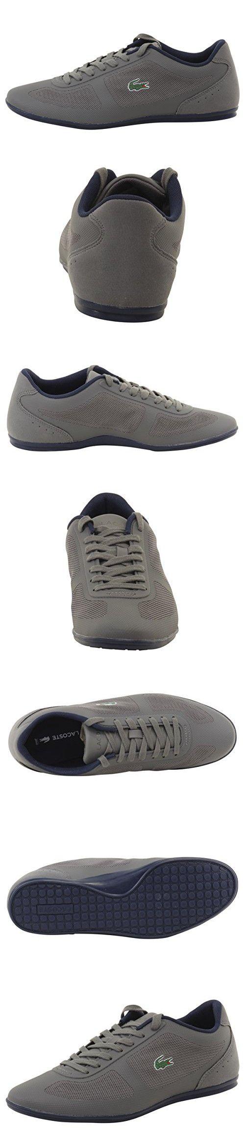 Lacoste Men's Misano Evo 316 1 Spm Fashion Sneaker, Grey, 9 M US