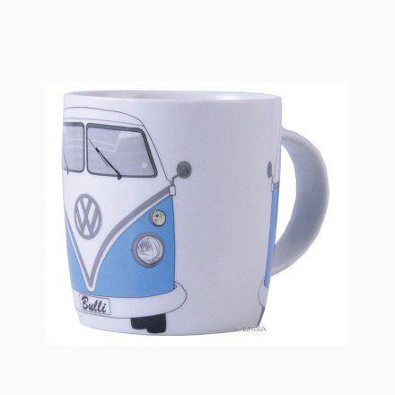 Kaffeetasse VW Bus blau online kaufen ➜ Bestellen Sie Kaffeetasse VW Bus blau für nur 9,95€ im design3000.de Online Shop - versandkostenfreie Lieferung ab €!