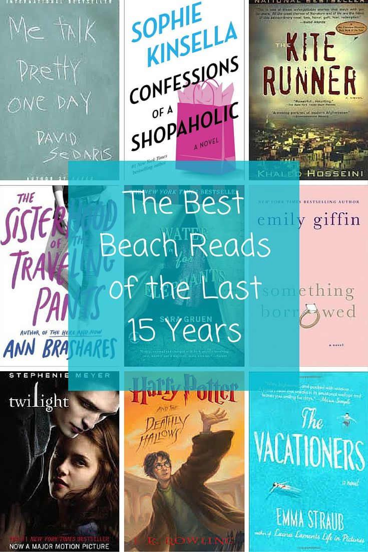 The Best Beach Reads of the Last 15 Years. How many of these were any your summer reading list?