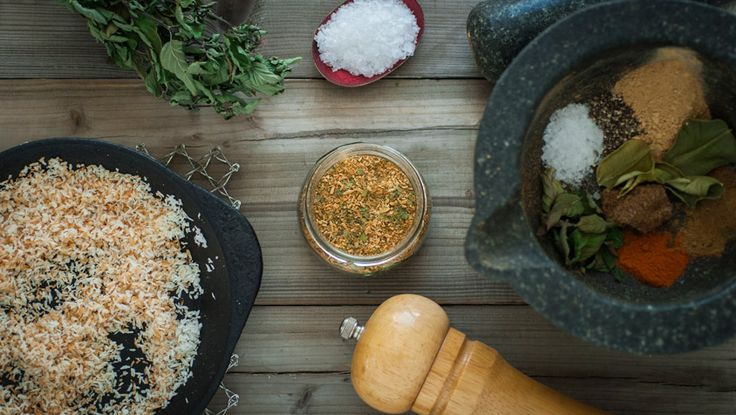 Lag din egen orientalske kryddermiks - Økologisk