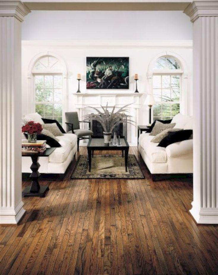 Oak Hardwood Flooring, Dark Laminate Flooring Decorating Ideas