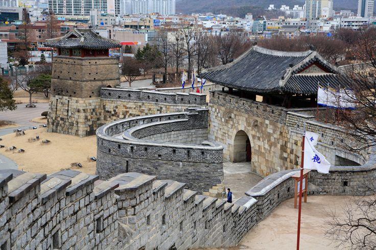世界遺産 水原華城 - Eos5D写真三昧 格安の海外旅行記と国内旅行のすすめ
