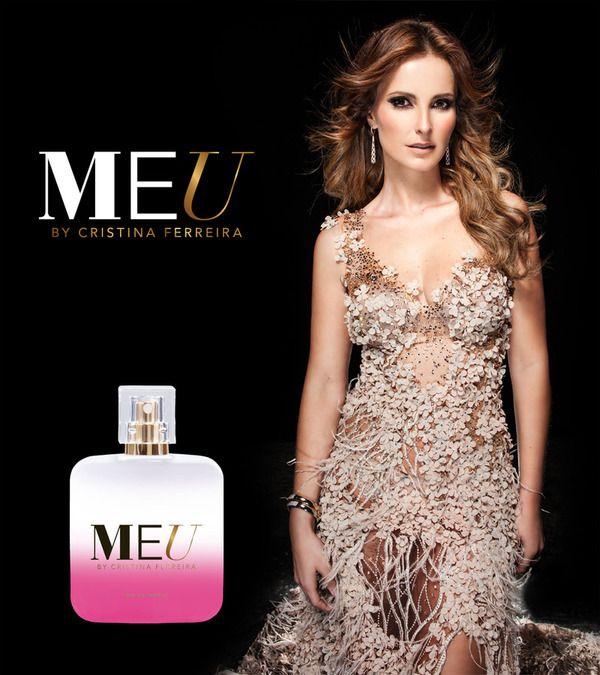 "Perfume ""MEU"" da Cristina Ferreira"
