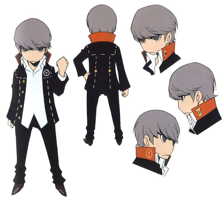 P4 Hero Concept from Persona Q: Shadow of the Labyrinth