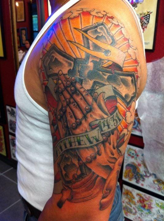 46 best archangel images on pinterest saint michael for Tattoo corpus christi