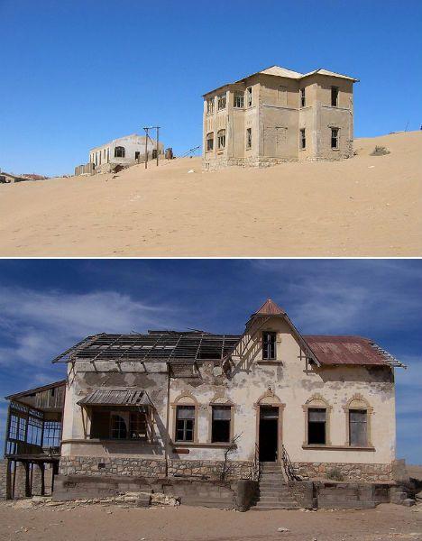 Abandoned Homes Kolmanskop 1