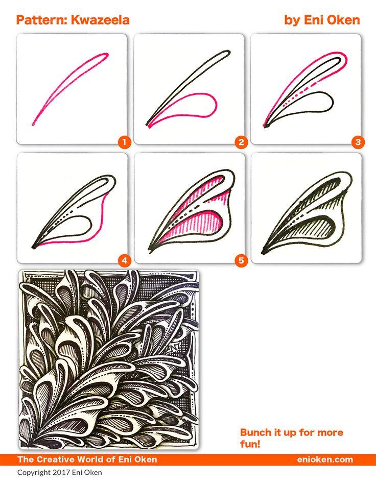 Learn how to create beautiful Zentangle®️️ • enioken.com