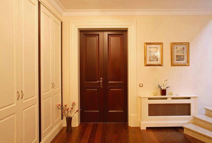 drzwi rozsuwane mahoniowe