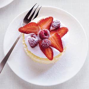 Recept - Supersnel gebakje met vers fruit - Allerhande