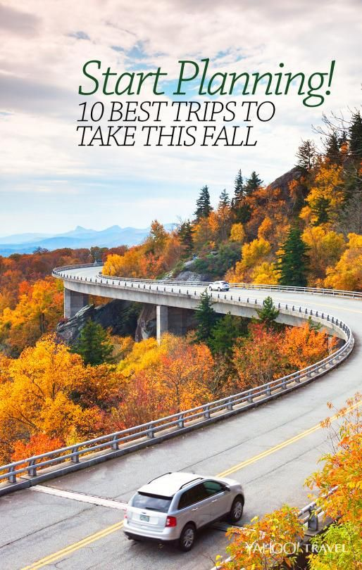 The most popular fall trips to take in America