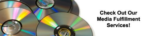 Now that you have decided to produce or already have produced your CD or DVD project, have you decided how to distribute it?  We provide a complete solution for your CD and DVD related projects. We can produce, print and press your discs from start to finish. We can also deliver your end product to your customers and clients on time, every time.